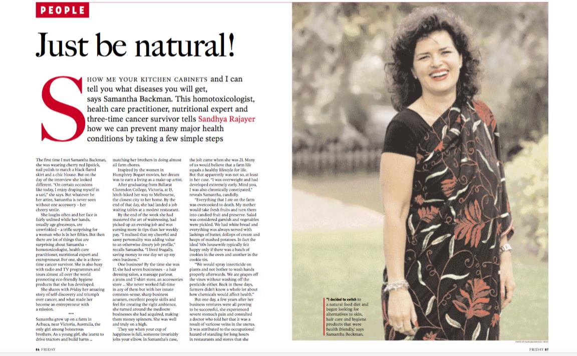 SB India Mag article