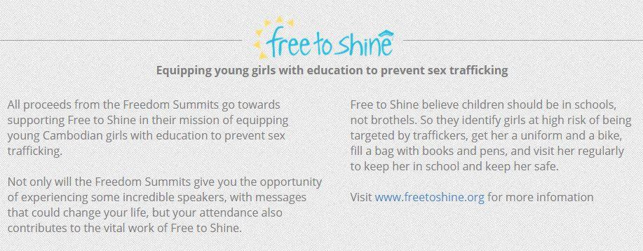 free to shine