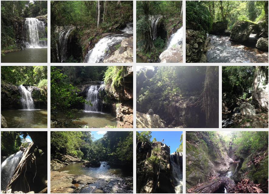 Rim Haven waterfall pics - Samantha Bachman
